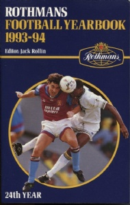 Sportboken - Rothmans Football yearbook 1993-94